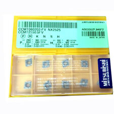 H● MITSUBISHI CCMT060202 NX2525 Carbide Inserts CNC