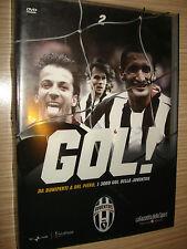 DVD N°2 DA BONIPERTI A DEL PIERO I 3000 GOL DELLA JUVENTUS OFFICIAL DVD FC JUVE