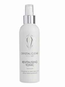 Crystal Clear Skincare Revitalising Tonic 200ml New Boxed & Sealed Fresh Stock