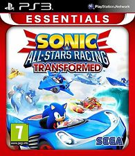 Sonic and All Stars Racing Transformed Sony PS3 Essentials Brand New Free P&P UK