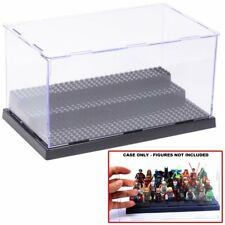 Lego 3 steps Display Case box assembly compatible For Lego Minifigures Series