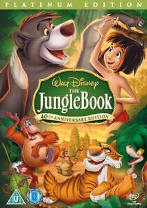 The Jungle Book (Disney) DVD (2007) Wolfgang Reitherman cert U 2 discs