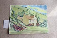 New Original Watercolour Rydall Mount Windermere the Lake District 35cm x 27cm