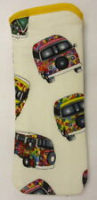 VW CAMPER VANS  - white  - GLASSES CASE ideal small gift