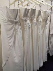 Robe de mariée marque Point mariage T40 ivoire modèle Sonora fluide mousseline