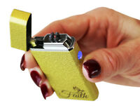 FAITH 8 colors  Electric Dual Arc Lighter Rechargeable USB Cigarette Plasma