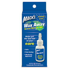 Mack's Wax Away Earwax Removal Drops - helps get the wax out of your ears