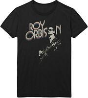 ROY ORBISON Guitar & Logo T-SHIRT OFFICIAL MERCHANDISE