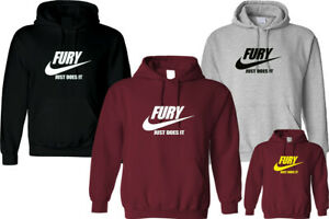 FURY JUST DOES IT HOODIE UNISEX TYSON HIPSTER FASHION FITNESS CHRISTMAS TOP GIFT