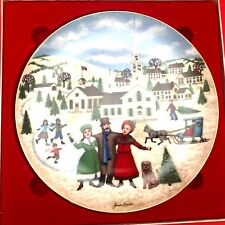 I Heard The Bells On Christmas Day Collector Plate By Royal Windsor 1987 6th Edi