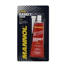 9914 MANNOL  85g Tube RTV Silicone Sealant Red Gasket Maker High Temp Sealant