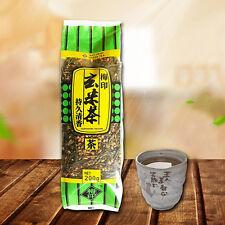 Chinese Loose Genmaicha Green Tea 200g with Roasted Brown Rice Popcorn Tea