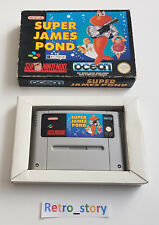 Super Nintendo SNES - Super James Pond - PAL - FAH