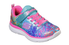 Skechers Kids Girls' Wavy Lites Sneaker Multi 3 Medium US Little Kid