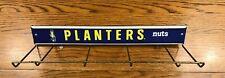 Planters Peanut Mr. Peanut Metal Rack Shelf With Sign Store Advertising