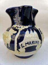 Vecchia CERAMICA MARMACA SAN MARINO brocca vaso atipica