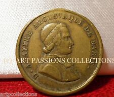 1848 REVOLUTION MEDAILLE MR AFFRE MARTYR ARCHEVEQUE PARIS
