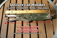 UNIVERSAL CLUTCH HUB SPROCKET ROTOR FLYWHEEL HOLDING HOLDER TOOL MOTORCYCLE ATV