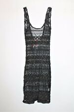 SUPRE Designer Black Lace Singlet Dress Size XS BNWT #SC75