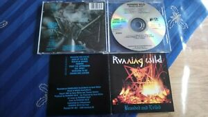 RUNNING WILD Branded and exiled ORG 1993 Noise! Grave Digger Helloween Accept