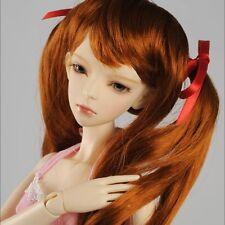 "Dollmore  1/3BJD OOAK Supplier SD wig (8-9)""  Moon G Wig (Red Brown)"