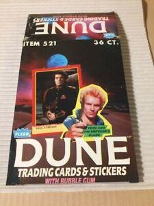 1984 Fleer Dune 3 Different Empty Boxes VG(Make Offer for 1 or 2)