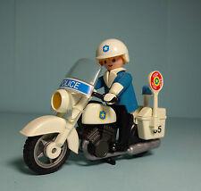 Playmobil Police ~ Polizei Motorrad / Police Motorcycle (3564)