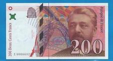 Gertbrolen  200 Francs EIFFEL Type 1995 Billet E000669234