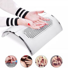 Nail Art Dust Suction Collector 3 Fans Vacuum Cleaner Manicure Suction 220V UK