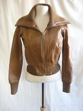 New Look Women's Leather Waist Length Casual Coats & Jackets