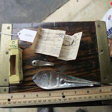 New listing Vintage Utz fishing lure & Reflecto fishing lure spoon (lot#10880)