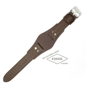 ORIGINAL Genuine leather brown band Fossil CH2890