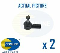 2 x NEW COMLINE FRONT TRACK ROD END RACK END PAIR OE QUALITY CTR3064
