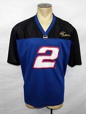 Winner's Circle NASCAR Auto Racing Rusty Wallace #2 blue jersey shirt size XL
