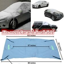Car Prevent Snow Ice Sun Dust Frost Freeze Windshield Cover Protector Tarp Flap#