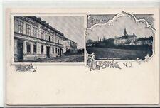 74168/10- Liesing mit Brauhaus im 23. Wiener Bezirk um 1900