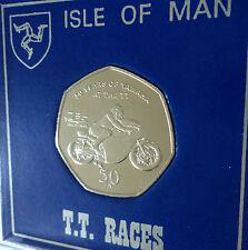 Isla De Man Tourist Trophy 2011 Motocicleta Carreras TT carreras 50p pantalla de regalo de moneda