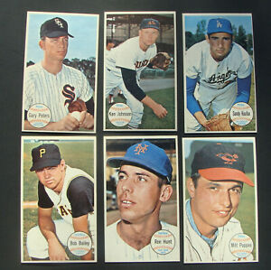 1964 TOPPS GIANTS COMPLETE SET 1-60 EX/ NM