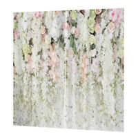 Affascinanti tende da bagno per tende da oscuranti stampate floreali # 1