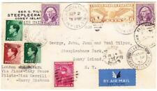 TRANSOCEAN RECORD FLIGHT-AAMC#1264,#1266-NEW YORK SEP/2/1936-TO WALES