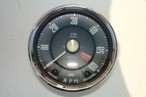 SUNBEAM ALPINE SERIES 1 MECHANICAL REV COUNTER , TACHOMETER RN 2310/00 REDUCED