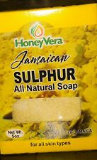 JAMAICAN ALL natural  Sulfur Soap