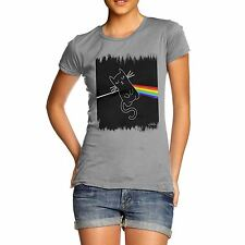 Twisted Envy Women's The Dark Side Of The Cat T-Shirt
