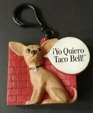 Yo Quiero Taco Bell Kids Meal Chihuahua Change Purse Keychain