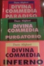 DIVINA COMMEDIA-TRE LIBRI-Dante Alighieri-Fratelli MELITA Editori