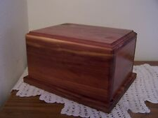 Cedar Wood Cremation Urn Adult