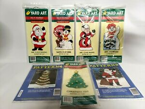 Yard Art Christmas Patterns Do It Yourself Patterns 7 New