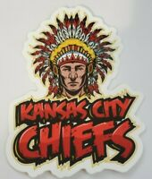Kansas City Chiefs AFC Champion DieCut Sticker Decal