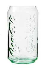 1 COCA COLA CAN SHAPED GLASS GLASSWARE BEVERAGE DRINKING 12 OUNCE CUP