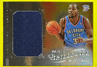 🔥2012-13 Panini Brilliance KEVIN DURANT Game Time Jersey #18 Thunder HTF🤯Nets